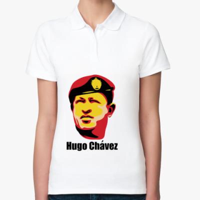Женская рубашка поло Уго Чавес