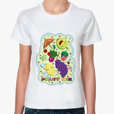 Классическая футболка  Фруктовый микс