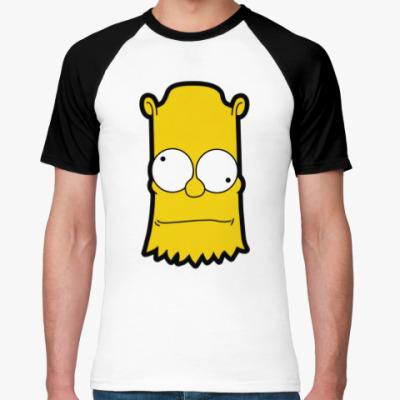 Футболка реглан Crazy Bart