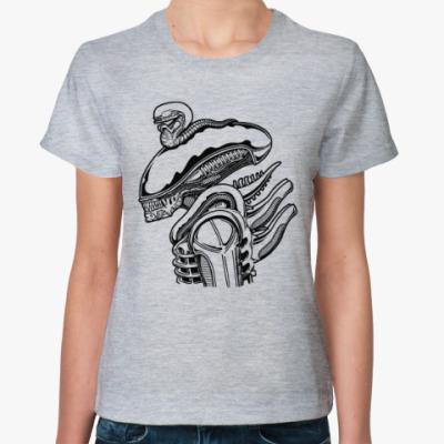 Женская футболка Чужой