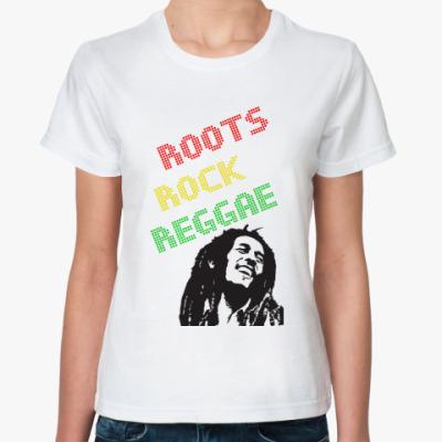 Классическая футболка roots rock reggae