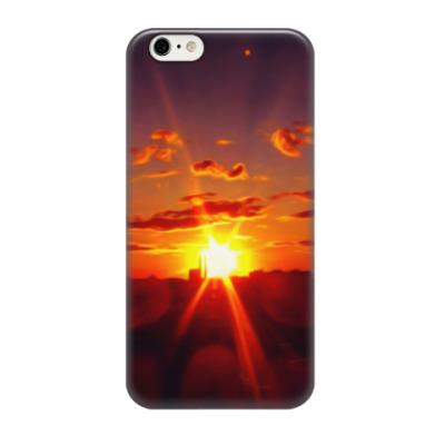 Чехол для iPhone 6/6s Закат в городе