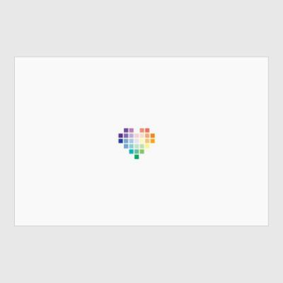 Постер pixel-Сердце