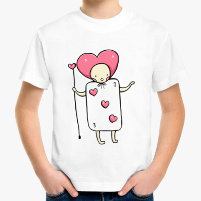 Детская футболка Карточный солдатик (kinder)