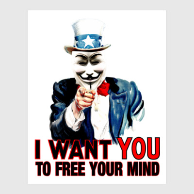 Постер Anonymous Uncle Sam