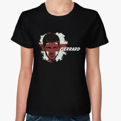 Женская футболка Джеррард