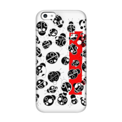 Чехол для iPhone 5c Коровушки