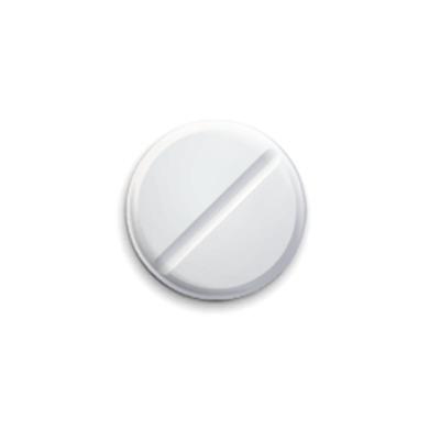 Значок 25мм   Placebo-таблетка