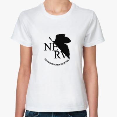 Классическая футболка  «Nerv»