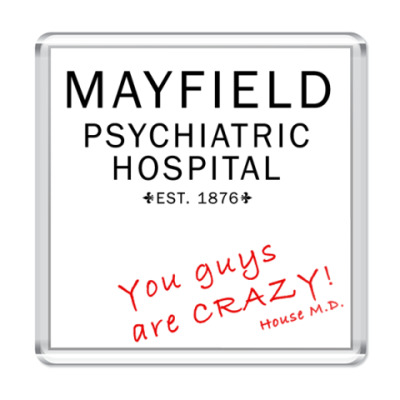 Магнит House Crazy