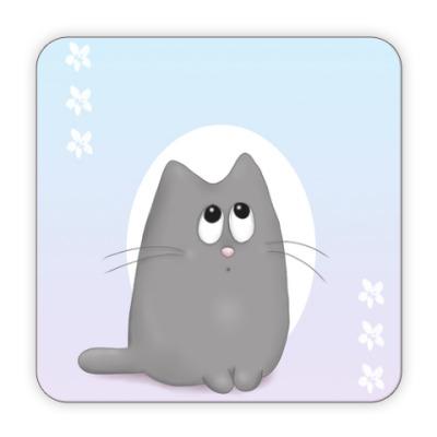 Костер (подставка под кружку) Котяшка-милашка