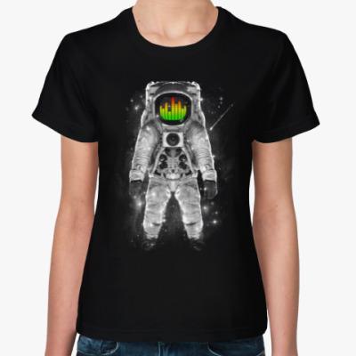 Женская футболка Космонавт
