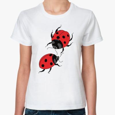 Классическая футболка  'Жуки'