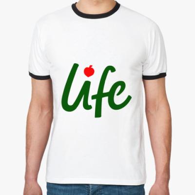 Футболка Ringer-T  Life