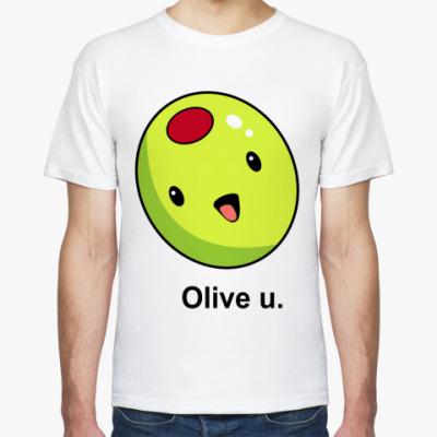 Футболка Olive U