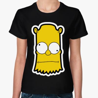 Женская футболка Crazy Bart