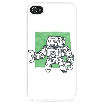 Чехол для iPhone Зелёный Защитник