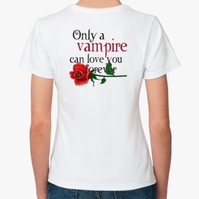 Классическая футболка двухсторонняя футболка