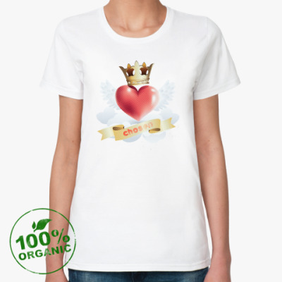 Женская футболка из органик-хлопка Chosen