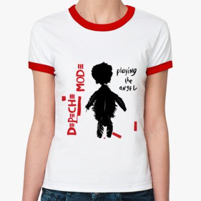 Женская футболка Ringer-T DM angel