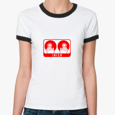 Женская футболка Ringer-T Ibiza