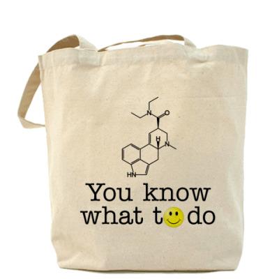 Сумка Холщовая сумка Acid