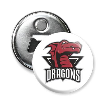 Магнит-открывашка Драконы Таргариен