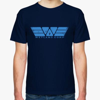 Футболка Чужой. Weyland-Yutani Corp