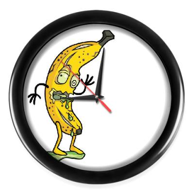 Настенные часы Rotten Banana