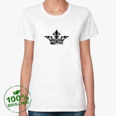 Женская футболка из органик-хлопка Корона