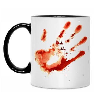 Кружка Bloody Hand