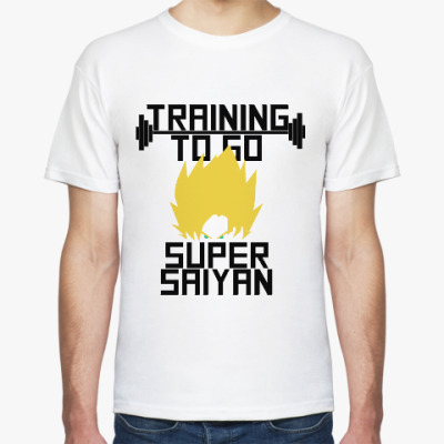 Футболка Супер Сайян (Жемчуг дракона)