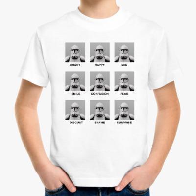 Детская футболка Эмоции клонов