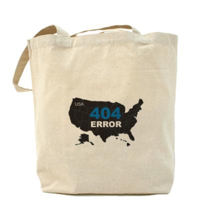 Сумка Холщовая сумка Error 404