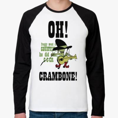 Футболка реглан с длинным рукавом Crambone!
