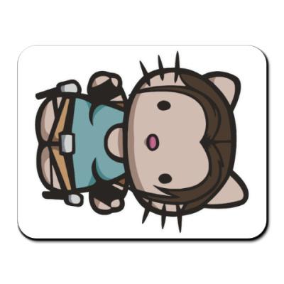 Коврик для мыши Kitty Лара Крофт