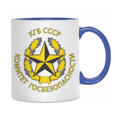 Кружка с эмблемой КГБ СССР