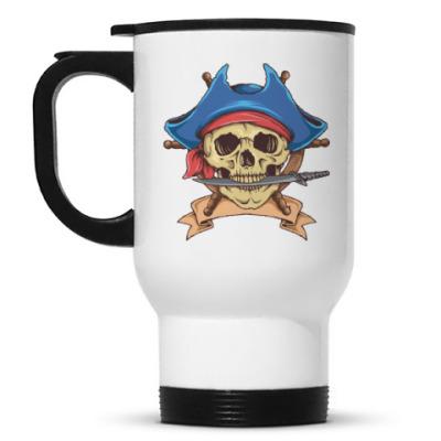 Кружка-термос Море. Пират.