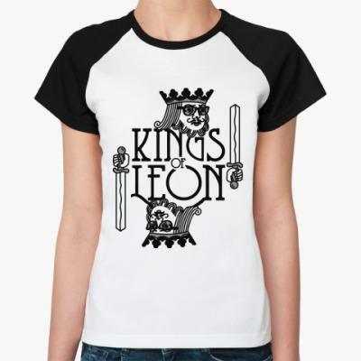 Женская футболка реглан Kings of Leon
