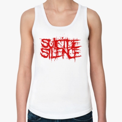 Женская майка  майка Suicide Silence