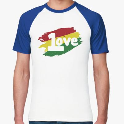 Футболка реглан 1 Love