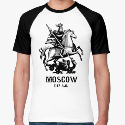 Футболка реглан Moscow