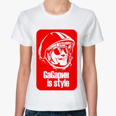 Классическая футболка GaGarin 01