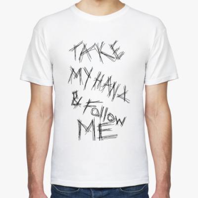 Футболка Follow me