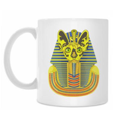 Кружка Кот фараон.