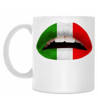 Кружка Итальянские Губы (флаг)