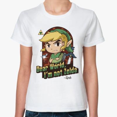 Классическая футболка Линк (Зельда)