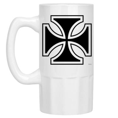 Пивная кружка iron cross