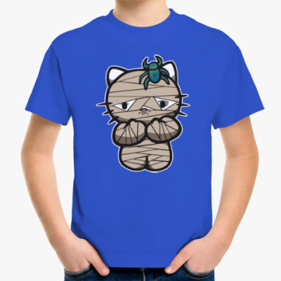 Детская футболка Китти Мумия