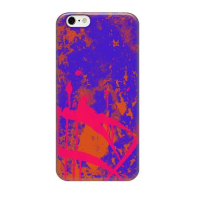 Чехол для iPhone 6/6s Брызги красок
